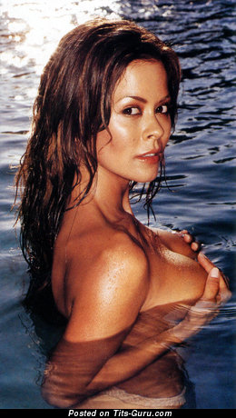 Image. Brooke Burke - naked nice lady with medium boob picture
