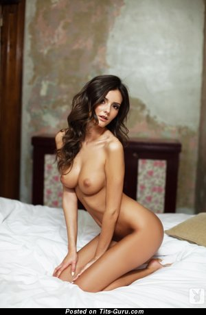 Image. Nude hot female with medium natural tits pic