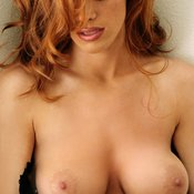 Red hair with big breast picture