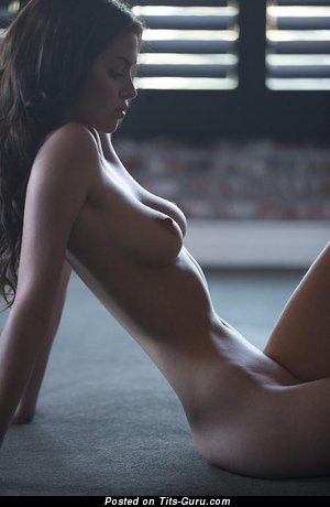 Image. Nude awesome female with medium natural tittys pic