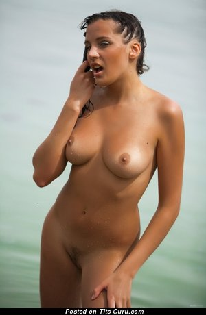 Image. Naked amazing female with natural boobs picture