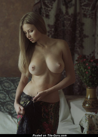 Image. Naked hot woman with big natural boobies photo