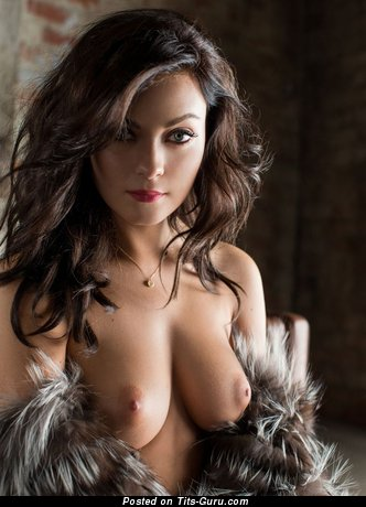 Image. Nude awesome female with big natural boobs photo