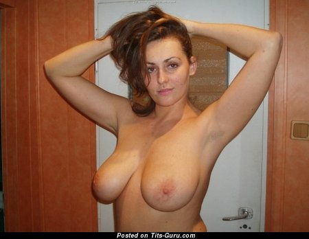 Image. Nude awesome lady with big natural tittes image