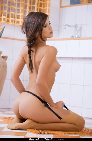 Image. Little Caprice - nude nice woman with small tots picture