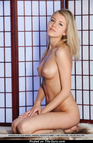 Barbara D - Pretty Russian Female with Pretty Nude Real Soft Boobs (Sexual Foto)