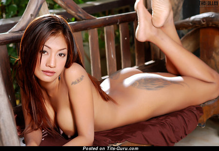 Image. Prissila Khan - nude asian with big tots image