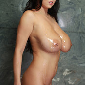 Ewa Sonnet - beautiful woman with big natural breast photo
