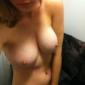 Бри Ларсон - wonderful lady with medium natural tits photo