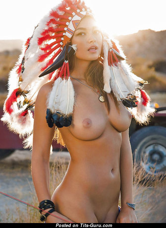 Charming Nude Brunette (Cosplay Hd 18+ Photo)