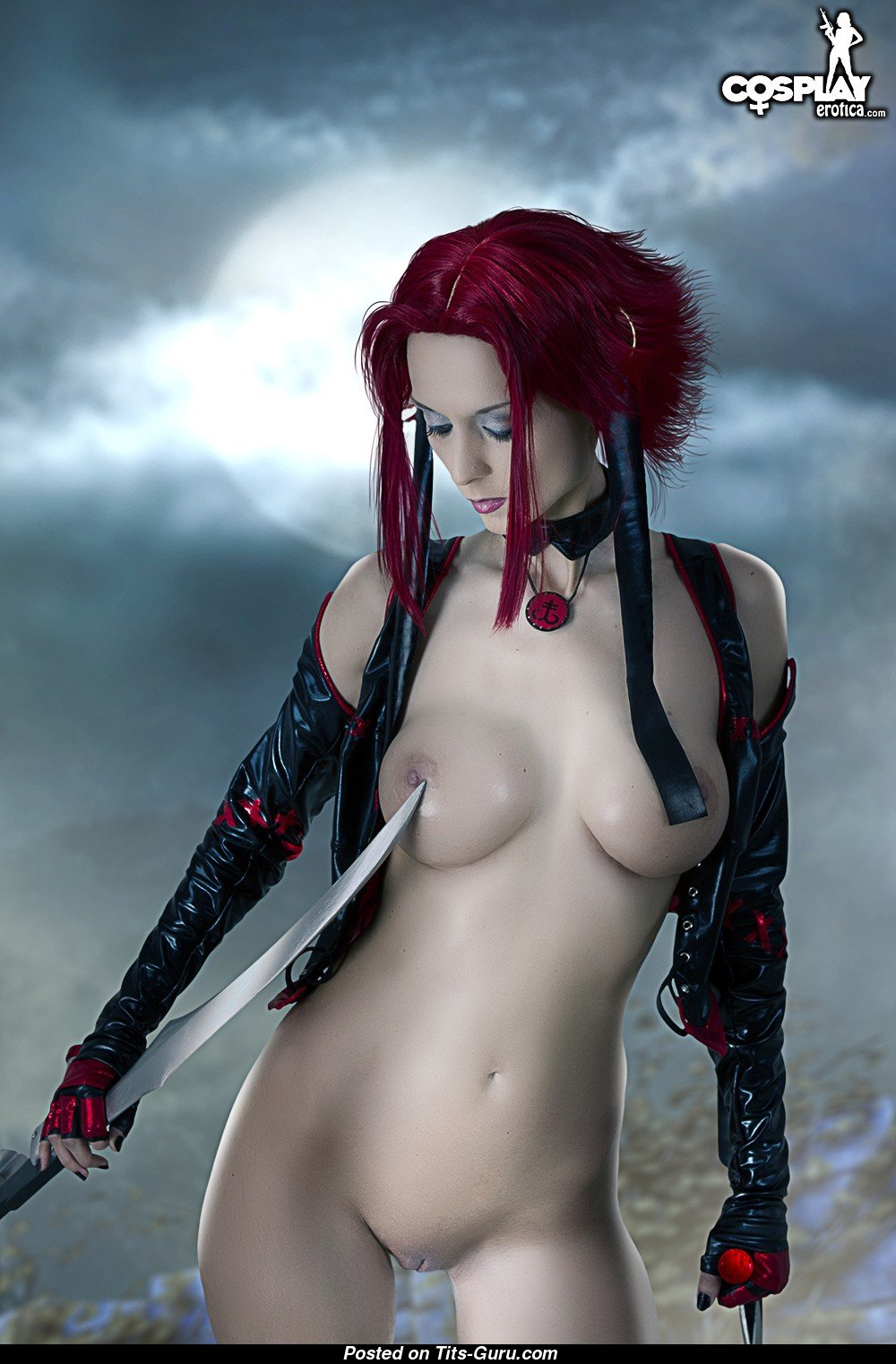Cosplay sexy nude