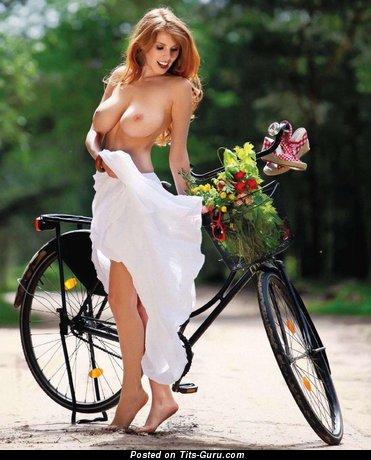 Image. Zane Ezerina - naked amazing lady with big natural boobies image