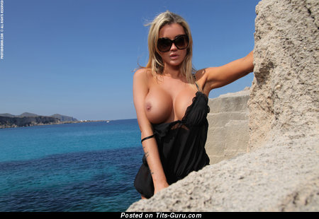 Image. Holly Henderson - nude blonde with big boobs picture