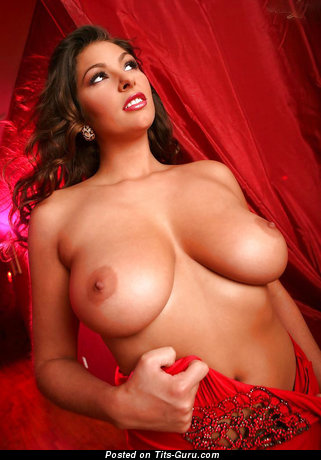 Image. Amber Campisi - naked brunette with big natural tits pic