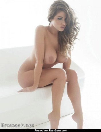 Люси Пиндер - Gorgeous Wife with Gorgeous Bare Dd Size Busts (Sexual Photoshoot)