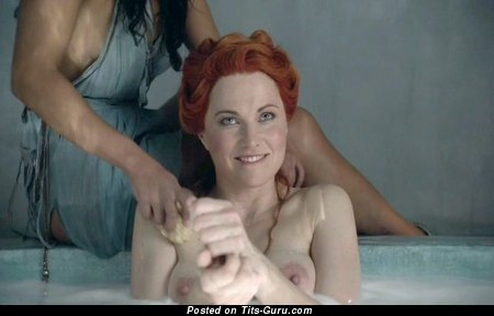Lucy Lawless - Graceful New Zealander Blonde Actress & Singer with Graceful Nude Real Mid Size Tit (Hd Porn Pix)