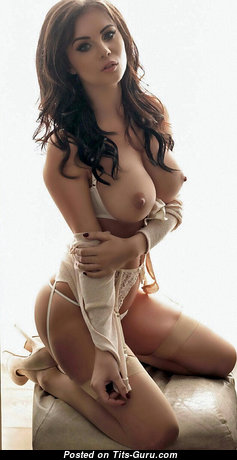 Alluring Undressed Brunette (Hd Sexual Pic)