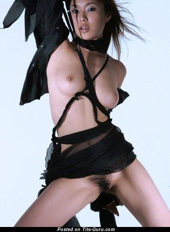 Image. Yua Aida - sexy topless asian with small natural boobies image