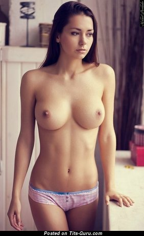 Sexy Doll with Sexy Bare Natural Average Breasts (18+ Pic)