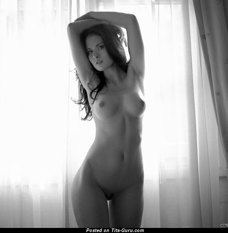 Image. Nude nice woman with natural tits image