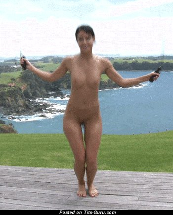 Image. Nude nice woman with medium boobs gif
