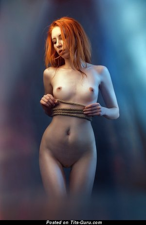 Image. Anna Rossa - nude red hair with small natural tots picture