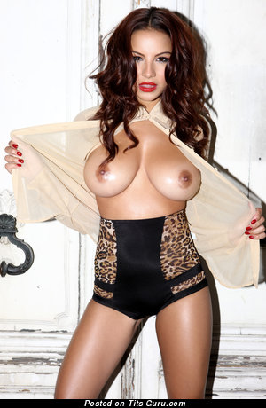 Image. Lacey Banghard - nude brunette with huge tittes image