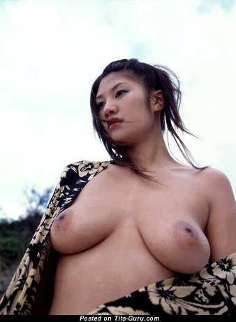 Azusa Ayano - Handsome Japanese Gal with Handsome Bald Real D Size Titties (Porn Picture)