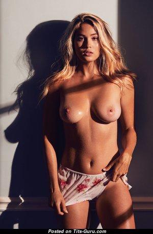 Megan Moore - Splendid Blonde with Splendid Open Average Tits (Hd Xxx Wallpaper)