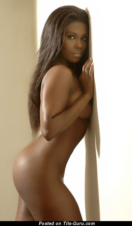 Nude nice woman with medium boob image
