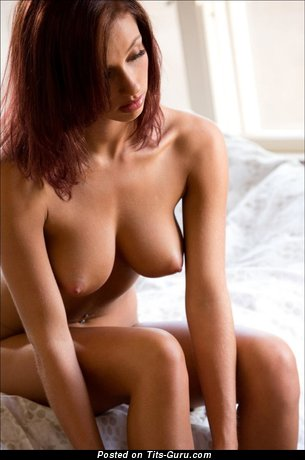 Image. Nude awesome female with medium natural tits pic