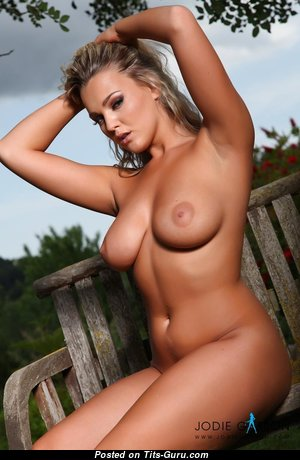 Graceful Blonde Babe with Graceful Bare Real C Size Knockers (Hd Porn Picture)