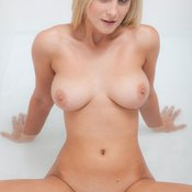 Nice woman with big natural breast image