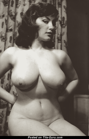 Nice Brunette with Nice Nude Real Boob (Vintage Hd 18+ Photoshoot)
