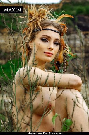 Мария Лисовая - Gorgeous Babe & Actress with Gorgeous Nude Normal Tits (Xxx Photo)