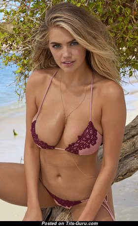 Kate Upton - Awesome Non-Nude American Blonde Actress & Babe with Awesome Real Regular Jugs (Hd 18+ Photoshoot)