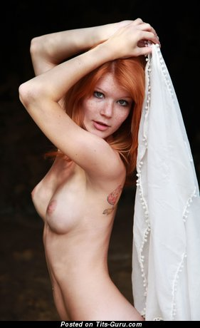Image. Naked hot female with medium natural tits picture