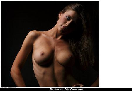 Image. Nice woman with medium tots image
