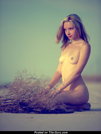 Image. Olga - nude amazing woman with natural tittys photo