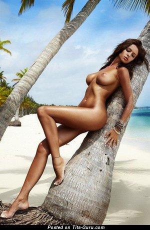 Monika Pietrasinska - naked brunette with big tits pic