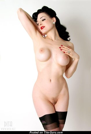 Image. Dita Von Teese - nude nice lady with big boob pic