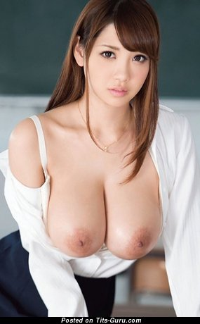 Handsome Asian Girl with Handsome Defenseless Real Big Sized Titties (Hd 18+ Photo)