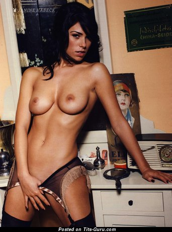 Image. Janine Habeck - naked amazing lady with natural tittes picture