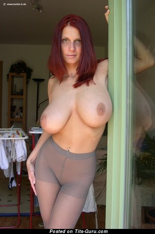 Image. Nude nice lady with natural boobs photo