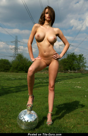 Image. Awesome female with natural tots picture