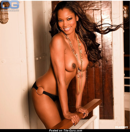 Garcelle Beauvais - Graceful Haitian, American Brunette Actress with Nice Bare Real Tots (Xxx Photoshoot)