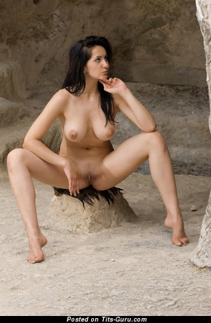 Image. Eski - nude awesome female with medium natural tittes image