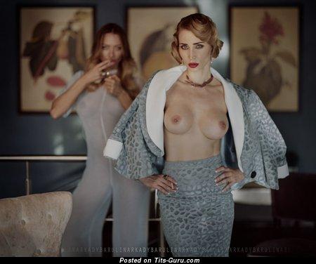 Image. Topless nice girl photo