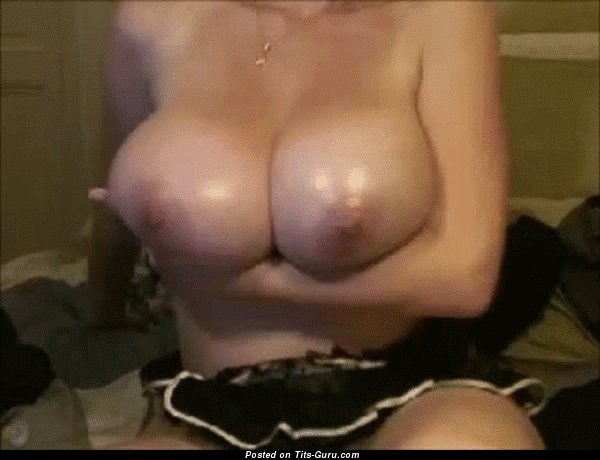 Image. Nice female with huge natural boobs gif