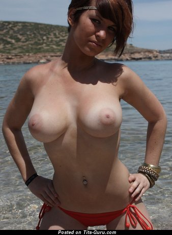 Image. Naked nice woman with natural tits photo